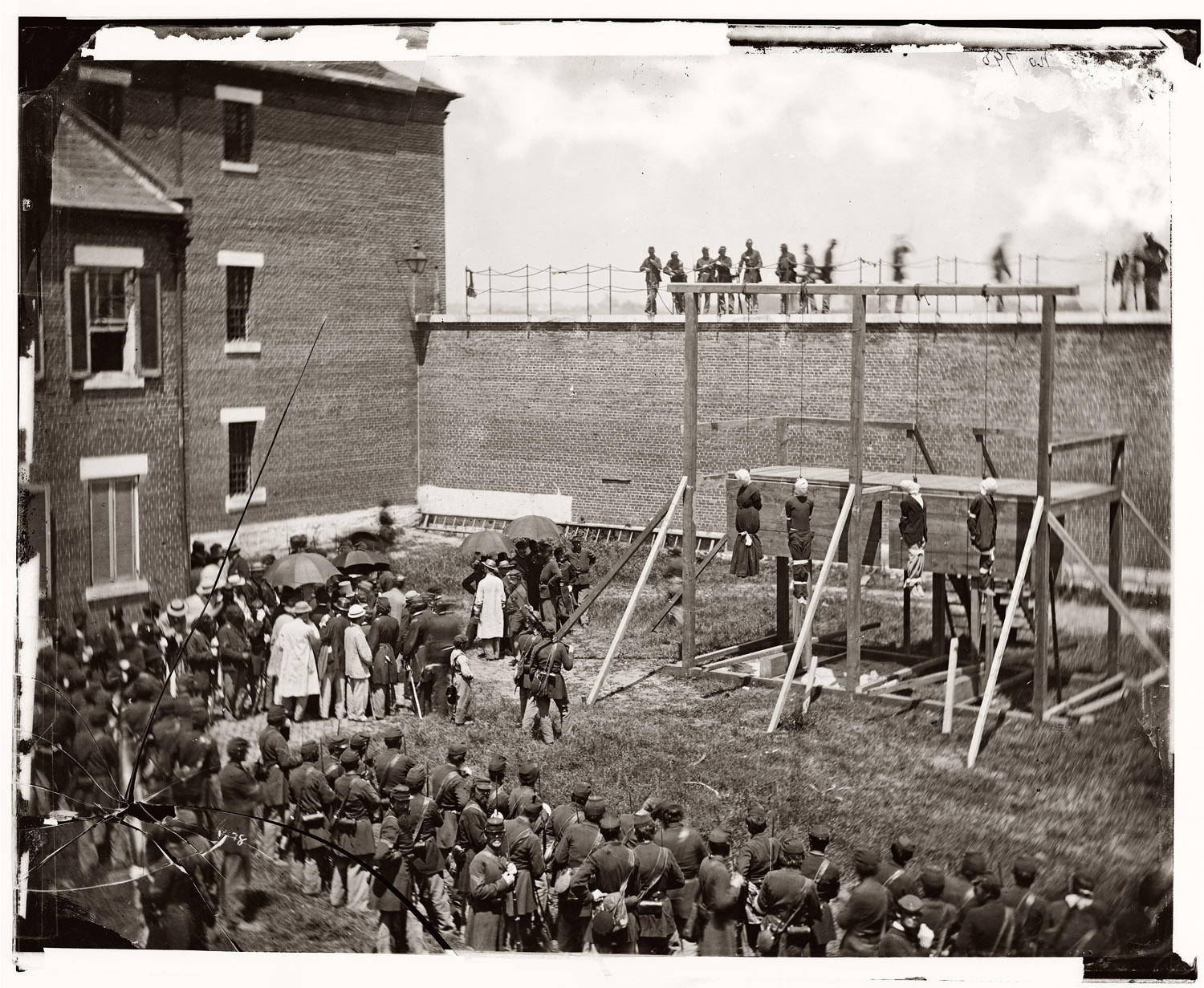 The Assassination Conspirators Hanged