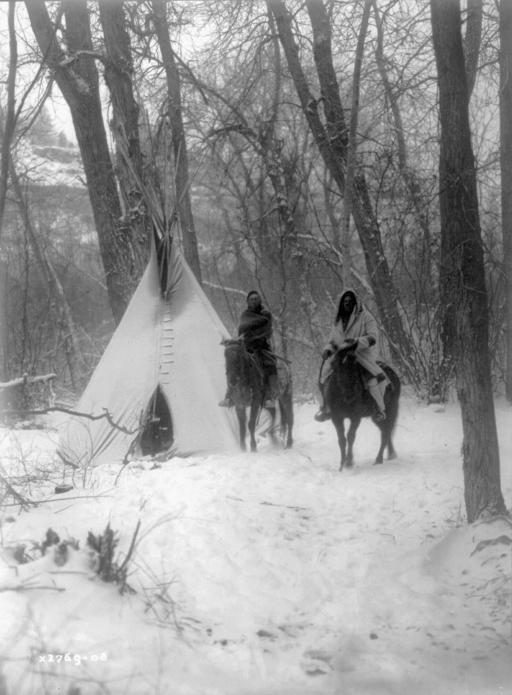 Winter Indian Camp: 1908