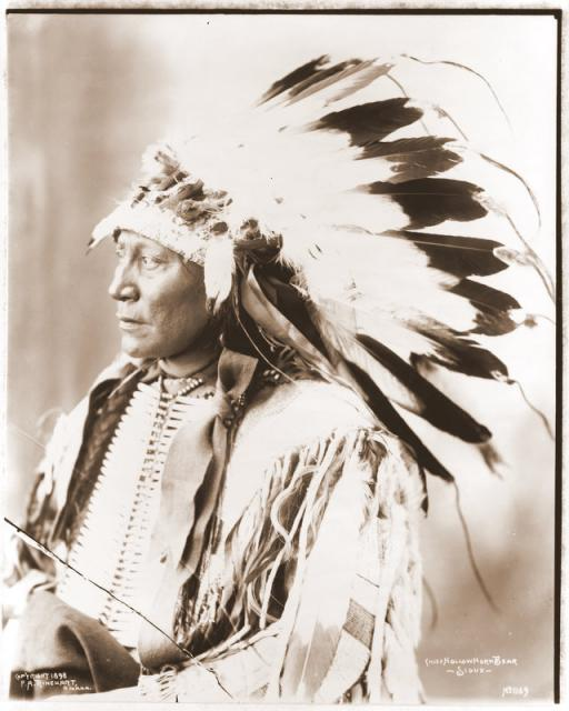 Sioux Chief Hollow Horn Bear