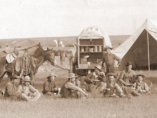 Chuckwagon Detail, 1887