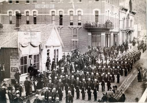 Deadwood Odd Fellows, 1890