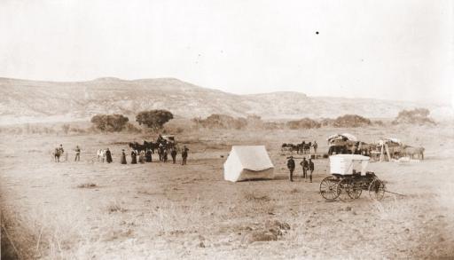 Camp on Clear Creek