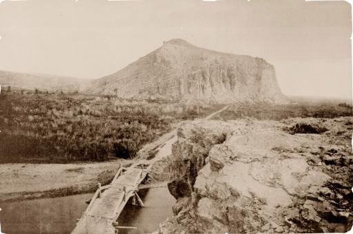 Stage Road Between Ogden and Helena, 1871